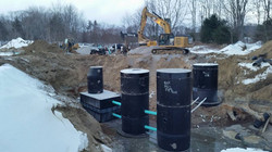 Campground Sewer System Installation