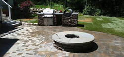 kitchen and firepit