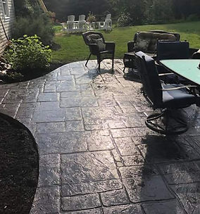 stamped concrete, patios, walks, decorative concrete