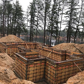 Concrete, foundations, footings, frost walls, piers, sono tubes