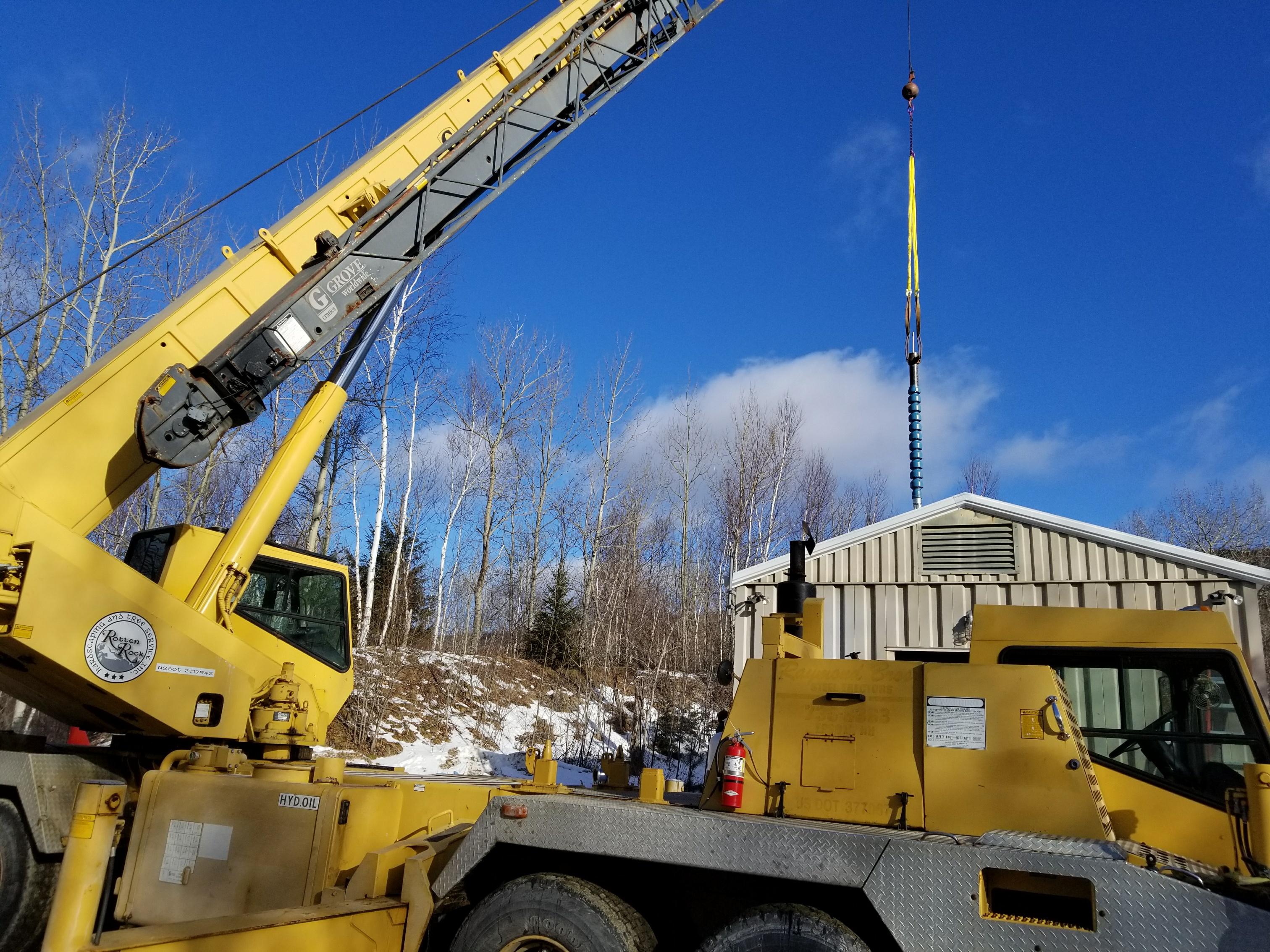 Grove TMS750 50 Ton Crane