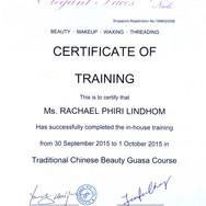 Diplom Traditional Chinese Beauty Guasa