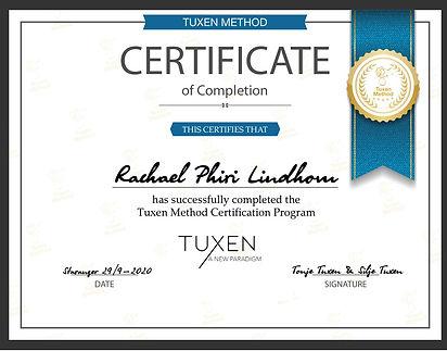 Diplom Tuxen Method Certification Progra