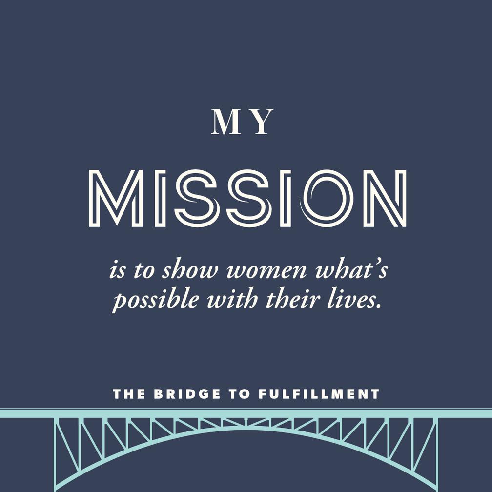 The Fulfillment Blueprint - The Bridge To Fulfillment podcast, episode 1