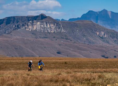 Bike touring the Mighty Drakensberg