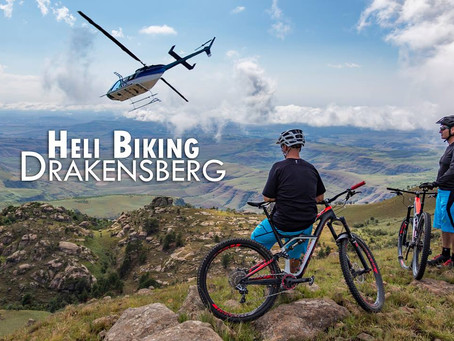 Heli-biking, Drakensberg, Kzn