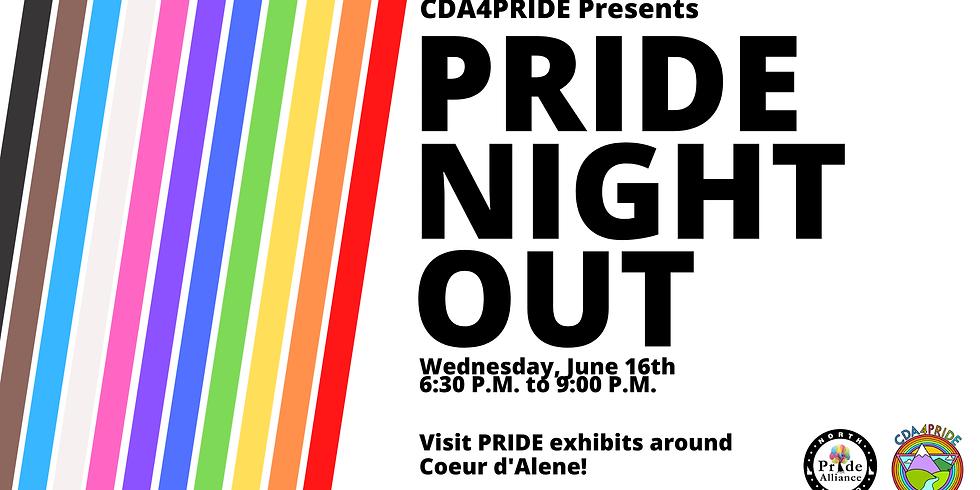 Pride Night Out: Arts & Culture Crawl