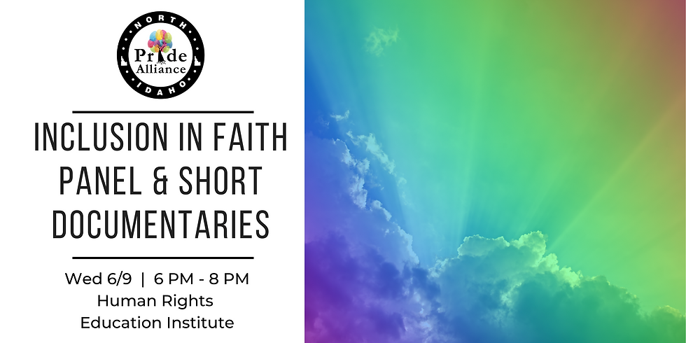 Inclusion in Faith Panel & Short Documentaries