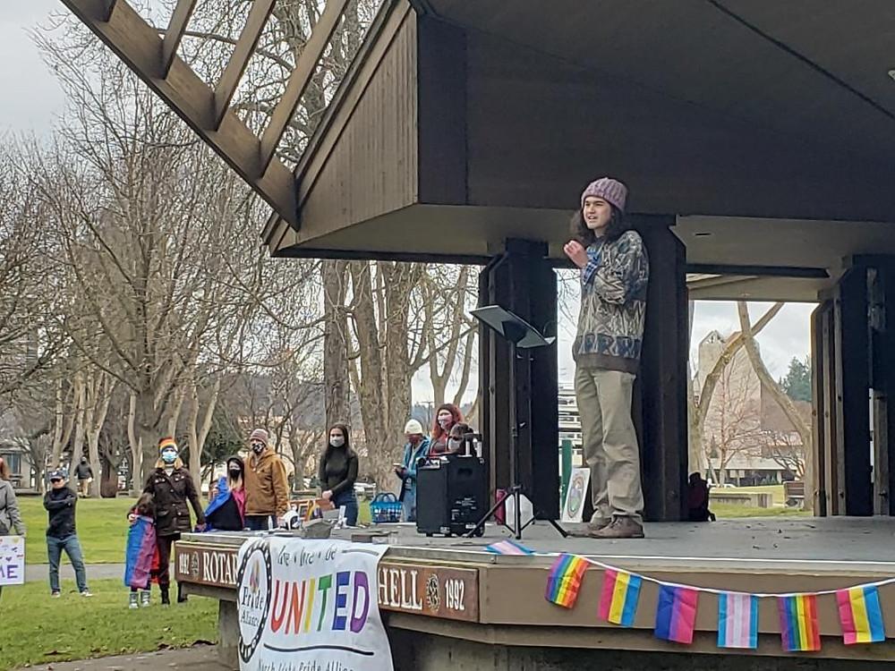 Mike Thurston - LGBTQ+ Youth Rally - Coeur d'Alene, Idaho
