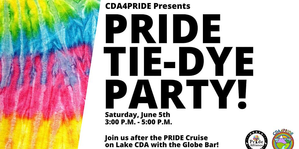 CDA4Pride Tie-Dye Party!