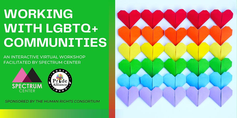 Working with LGBTQ+ Communities Virtual Workshop