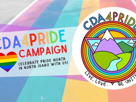 CDA4Pride Campaign: Celebrate Pride Month in North Idaho with Us!