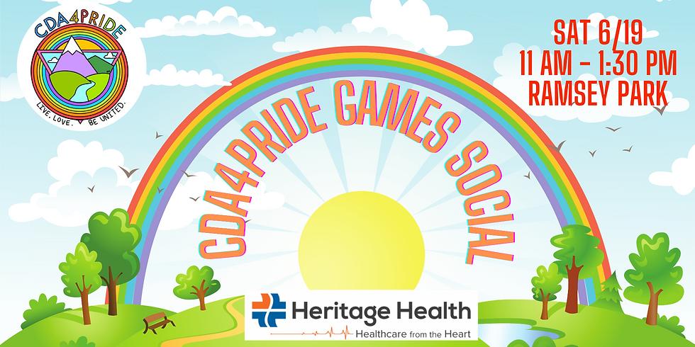 CDA4Pride Games & Social