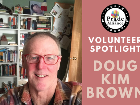 Volunteer Spotlight: Doug Kim Brown