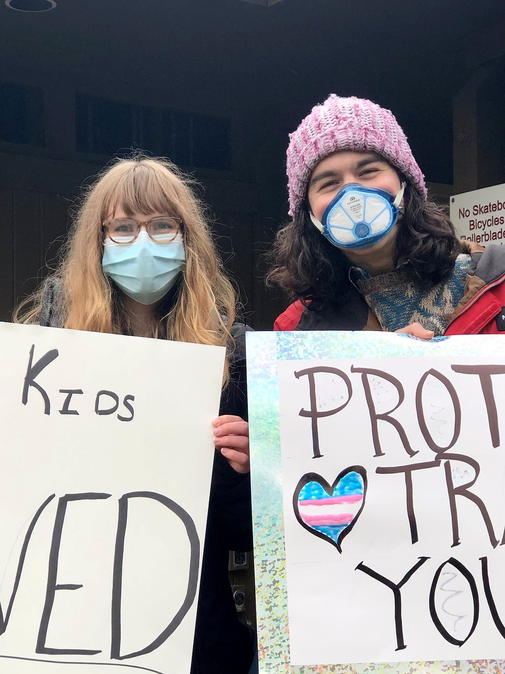 Evangeline Wilder - LGBTQ+ Youth Rally - Coeur d'Alene, Idaho