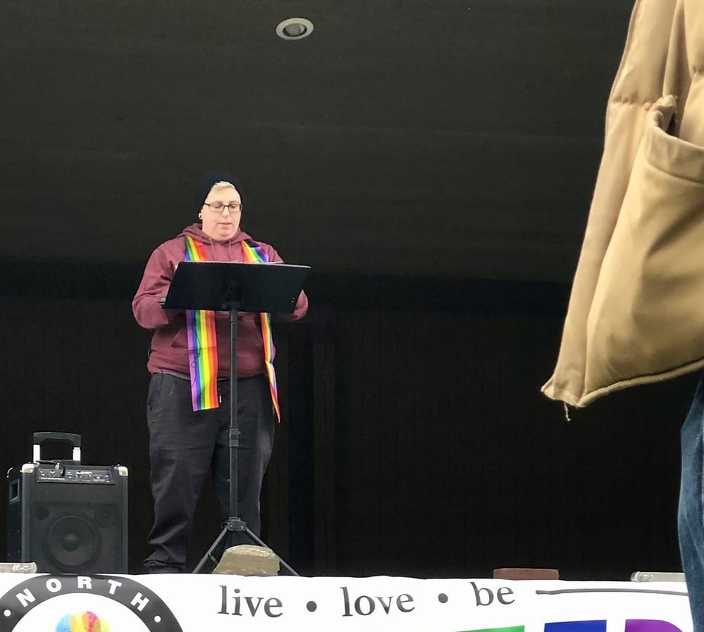 Brooke Allen - LGBTQ+ Youth Rally - Coeur d'Alene, Idaho