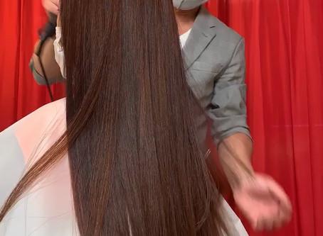 Googleクチコミと女優CM髪・ブリーチ次世代縮毛矯正
