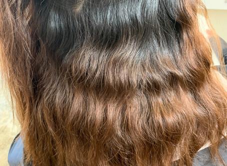 縮毛整形・ターミネーター毛と年末年始の休み
