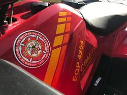 Quadriciclo bombeiros