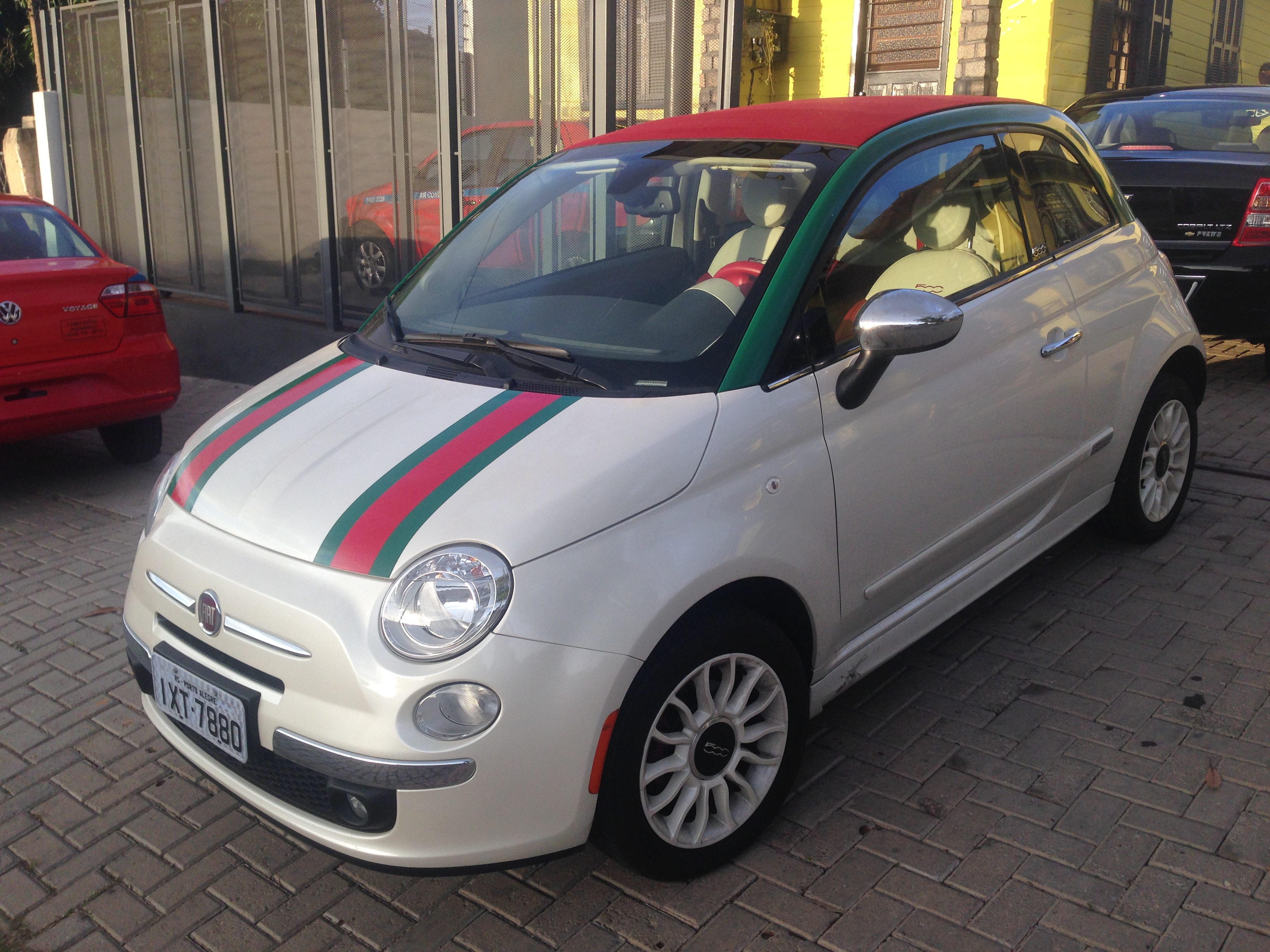 Fiat 500 conversivel