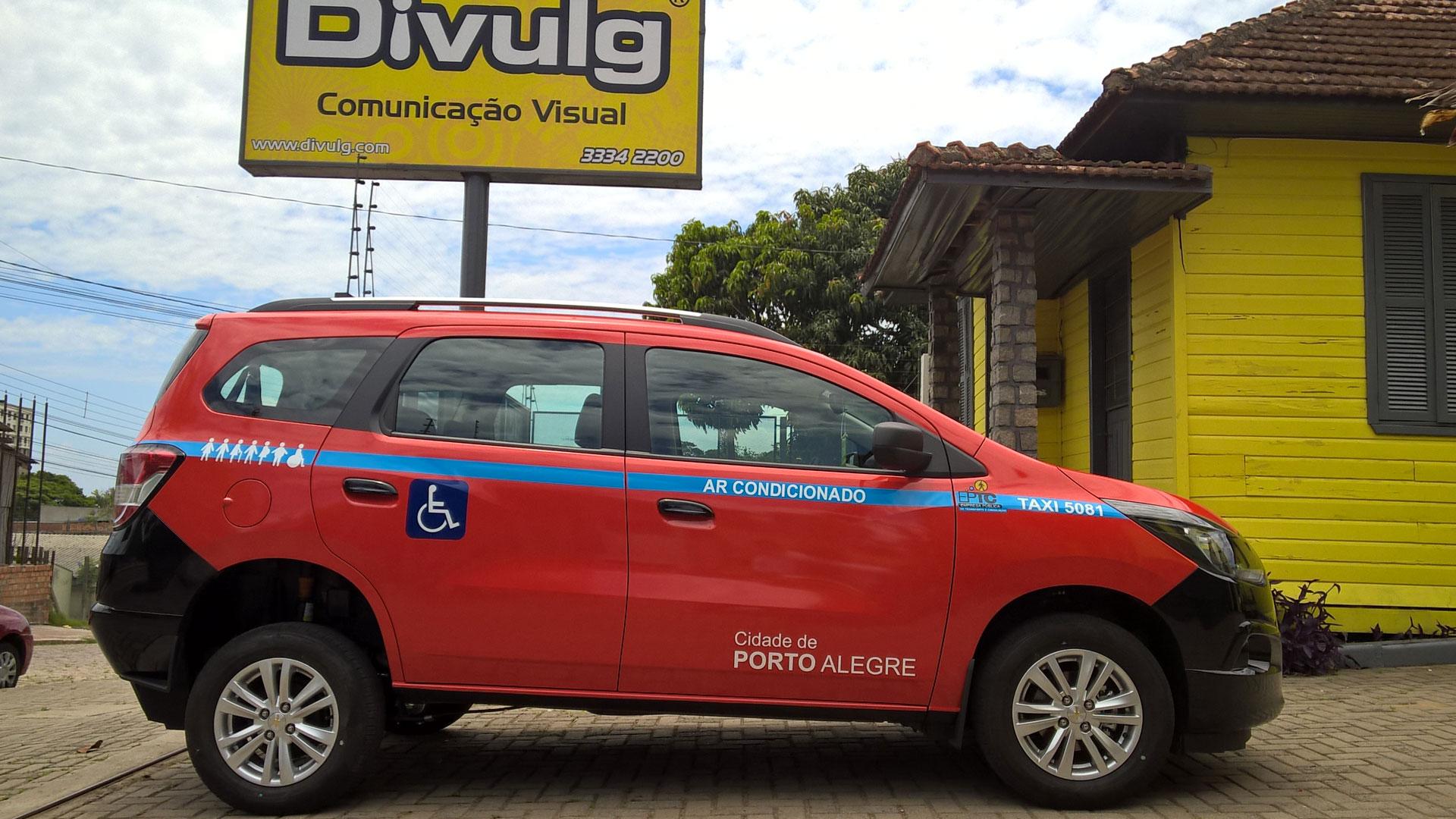 Taxi acessível