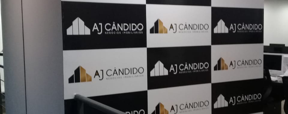 Adesivo vinil com impressão para Aj Cândido