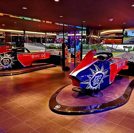 Simulateur F1 MSC Grandiosa