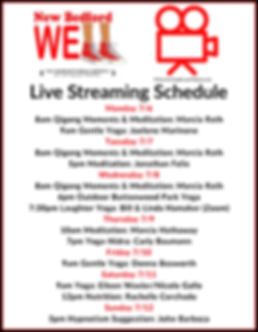 NB Well Live Streaming Schedule July-3.p