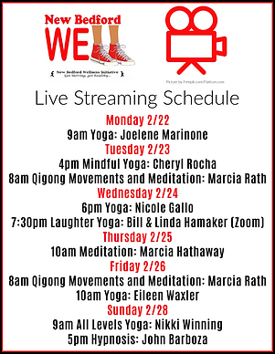 NB Well Live Streaming Schedule Feb 21-8