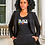 Thumbnail: Women's Fit Black and Youngish T-Shirt in Black