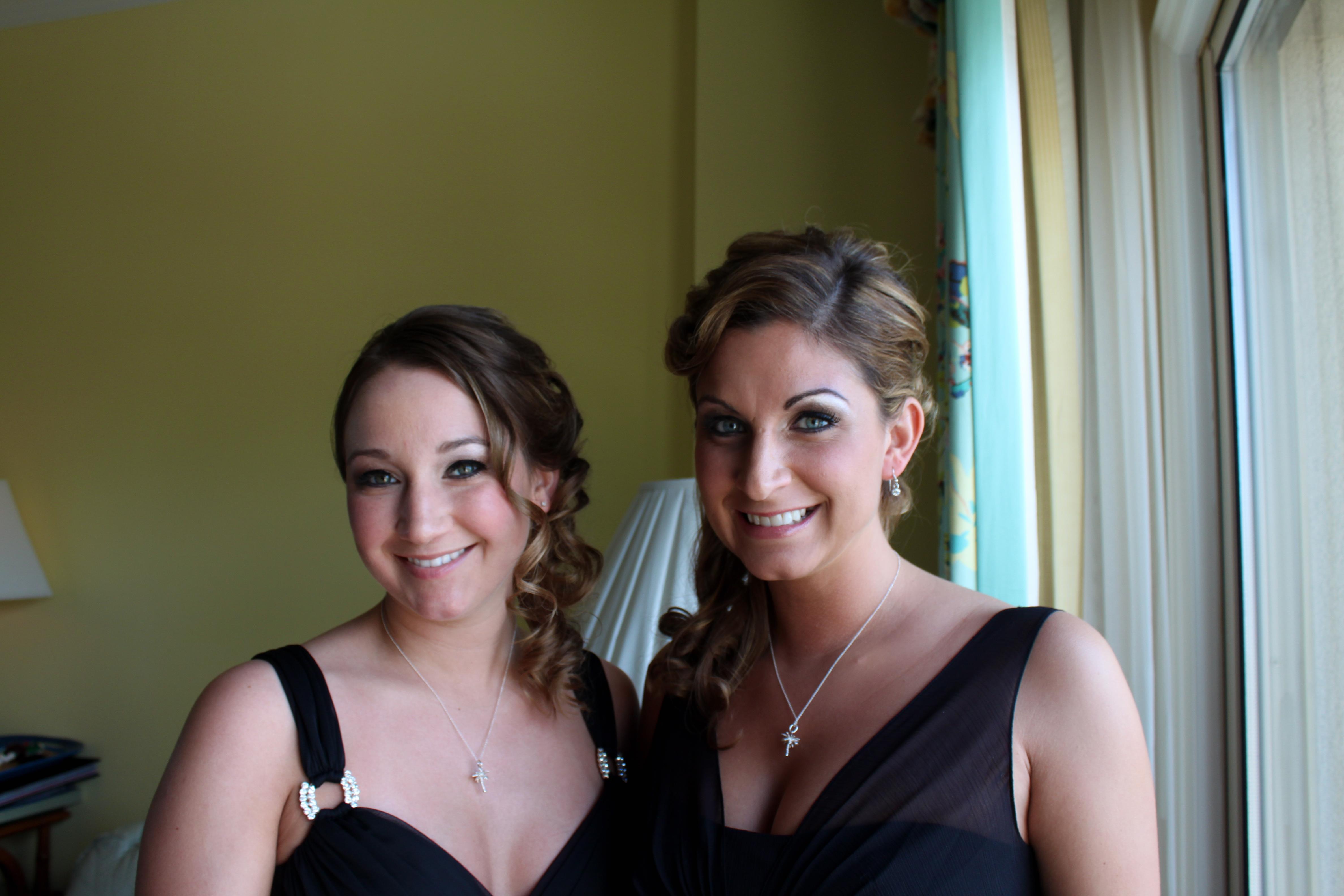 Grecian brides maids