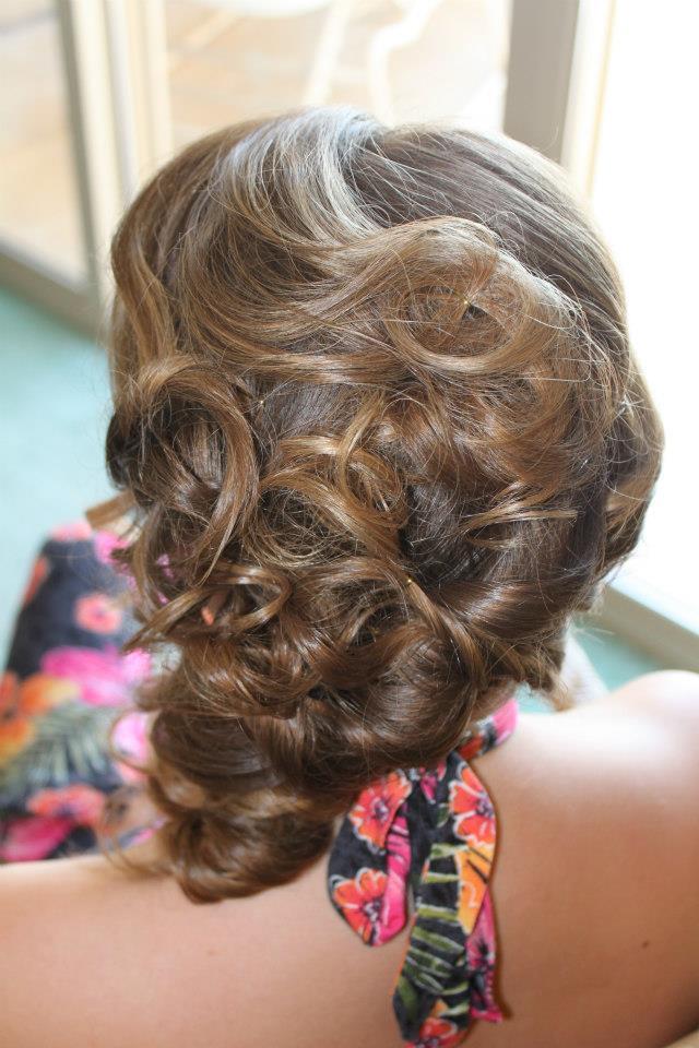 Bridesmaid Beach hair