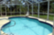 Child safe heated pool with lanai