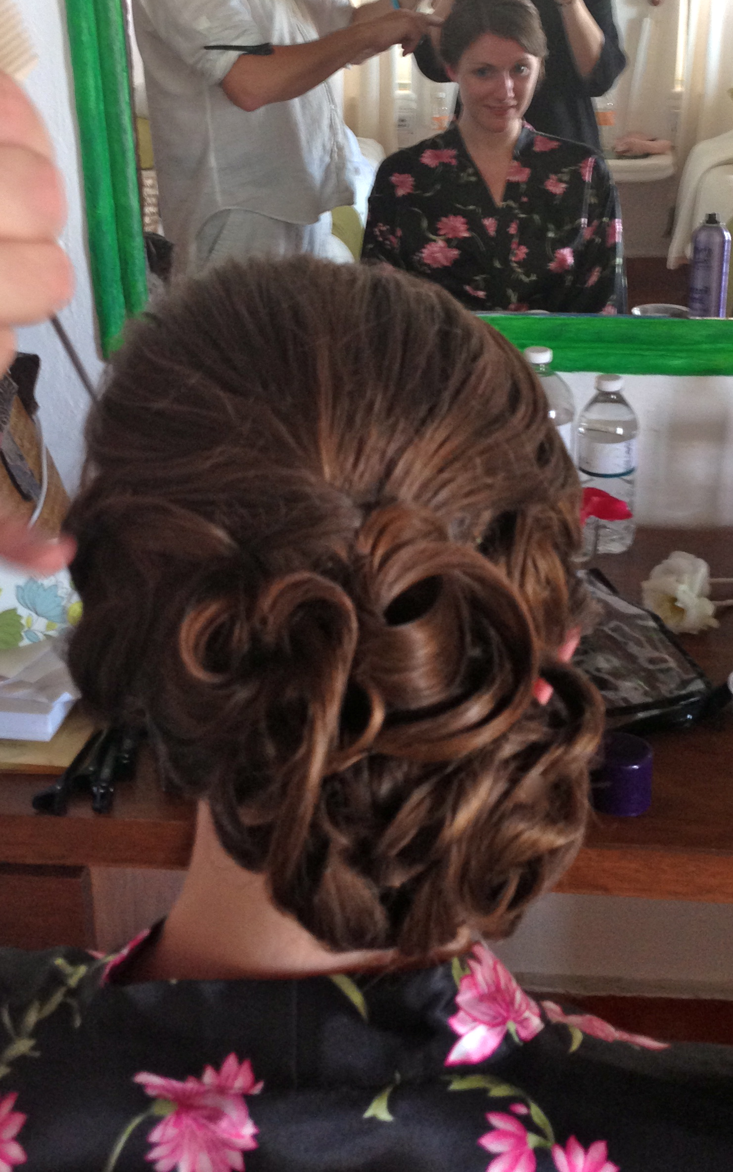 Structured Ornate Bridesmaids Hair