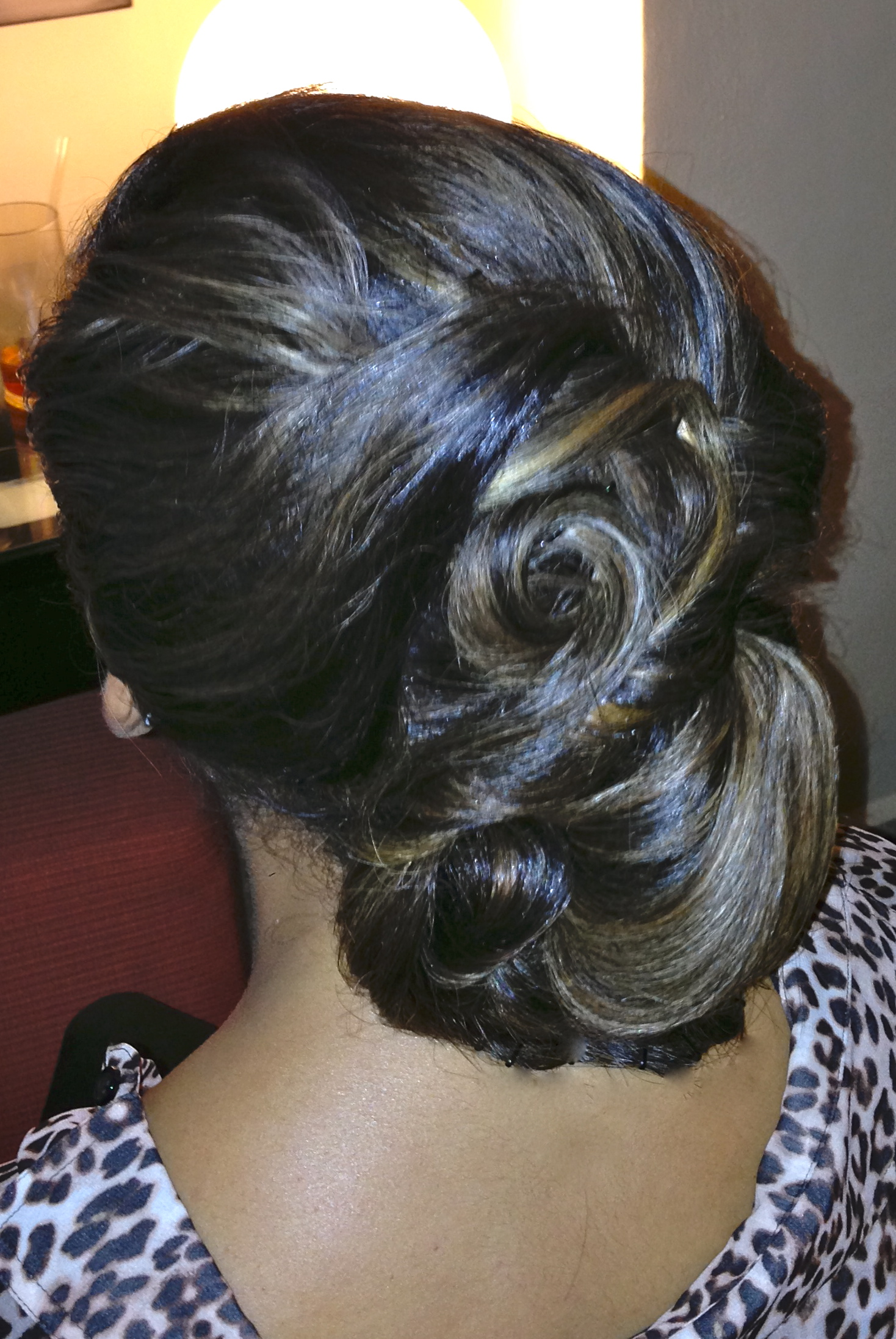 Coiled and sculptured