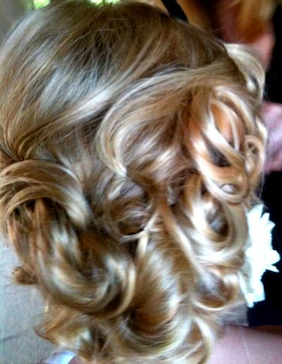 Blonde cascades