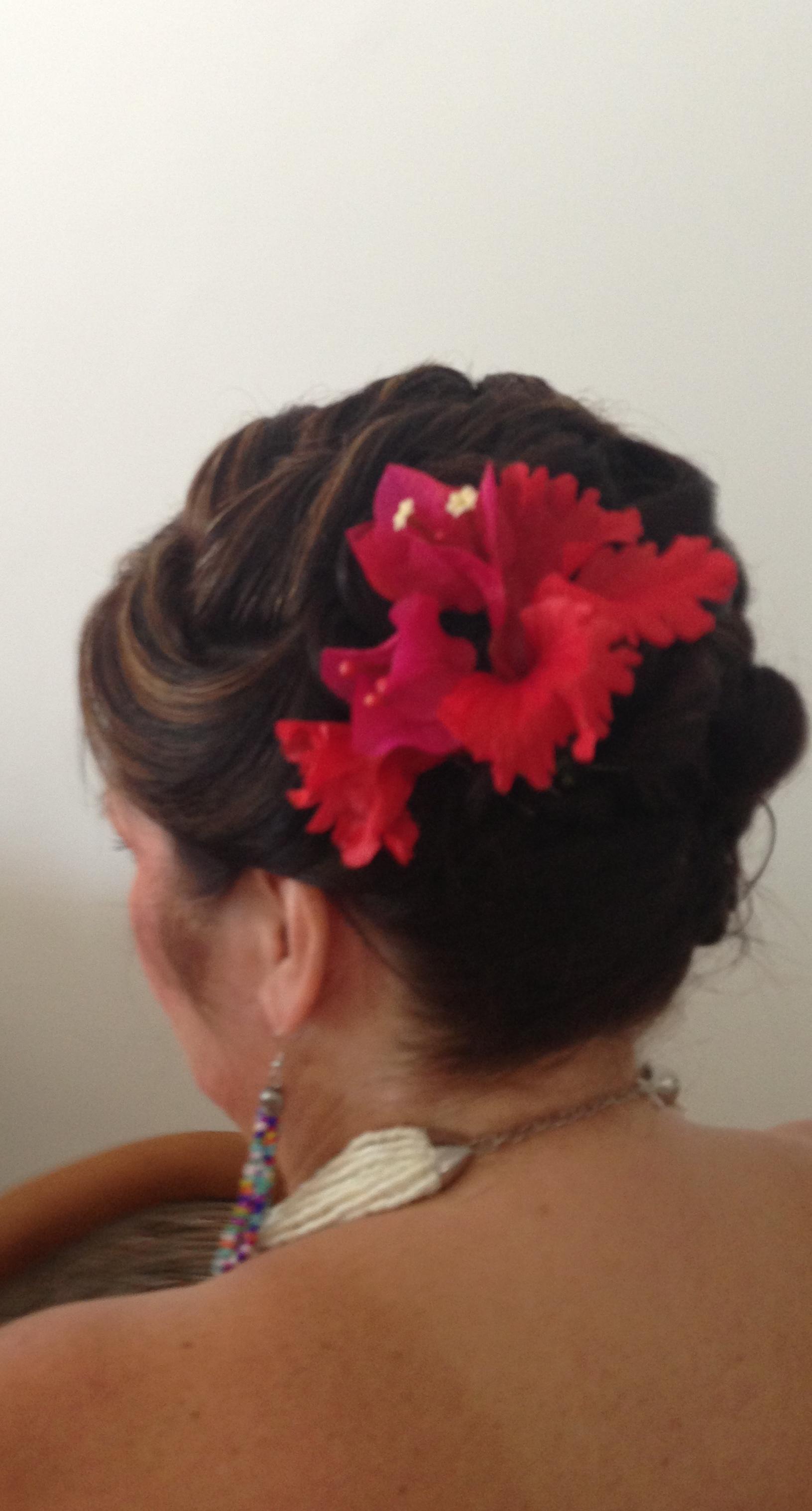 Perfect Beach Wedding Hair