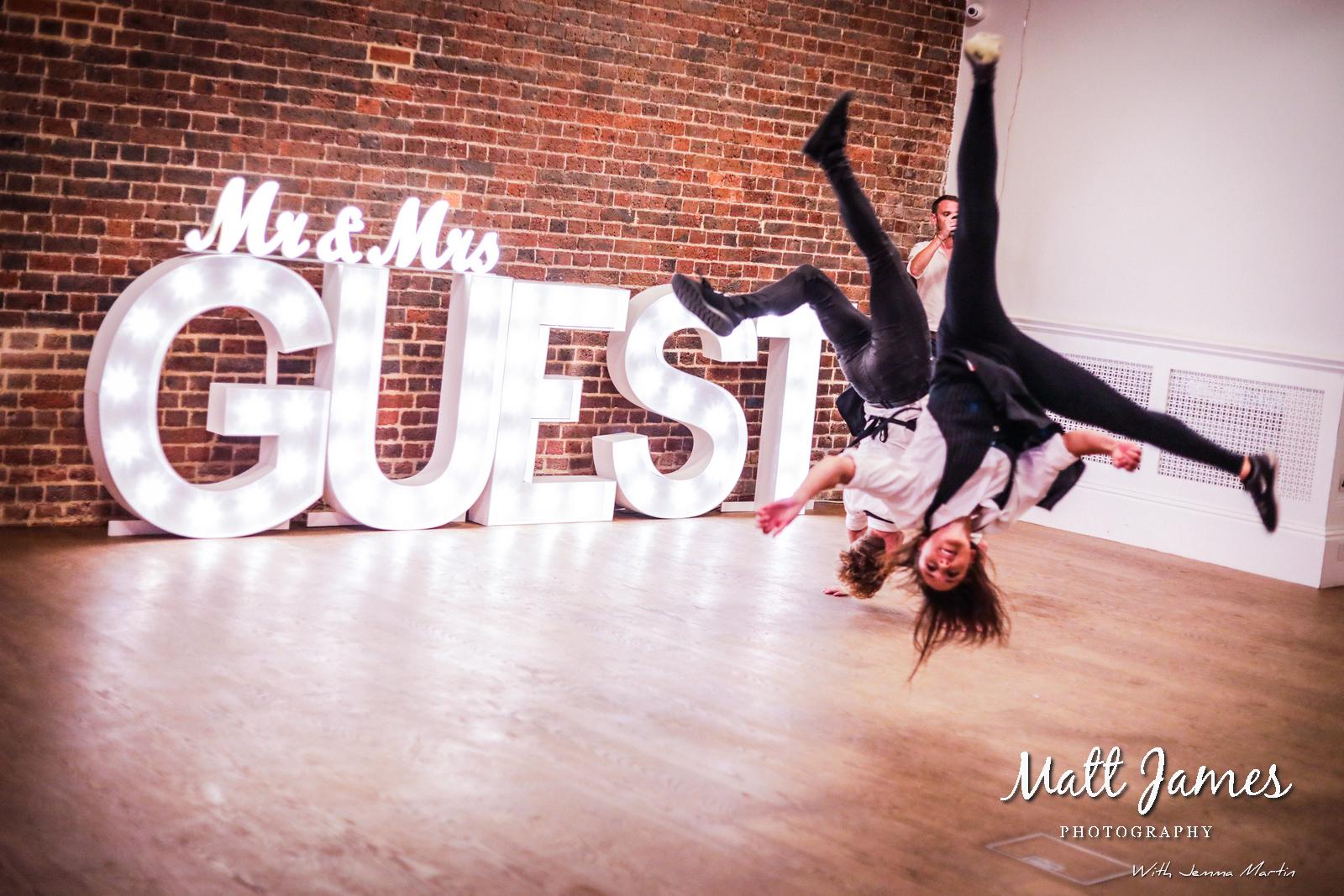 First Dance Acrobats