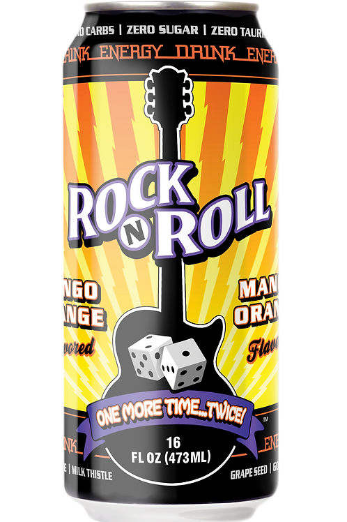 Rock & Roll Energy Orange Mango