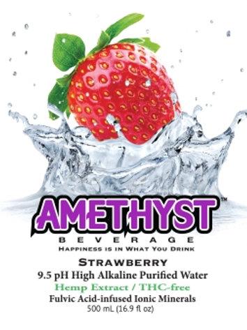 CBD Alkaline Water Strawberry