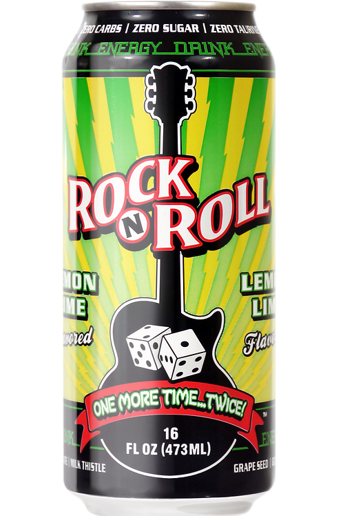 Rock & Roll Energy Lemon Lime