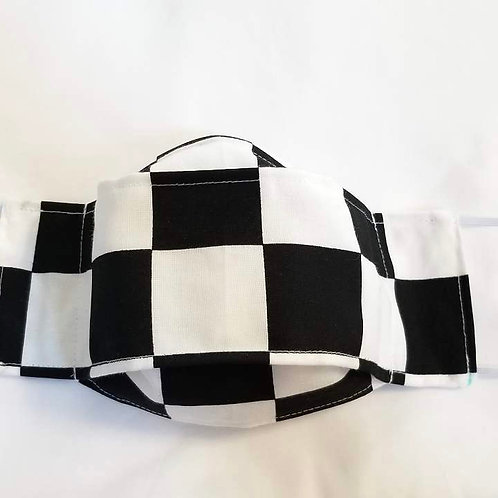 43. 3D Cotton mask - All sizes available