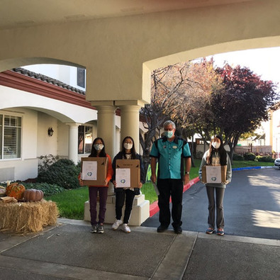 EBPPE October Donation - Áegis Living of Fremont, 10/31/20