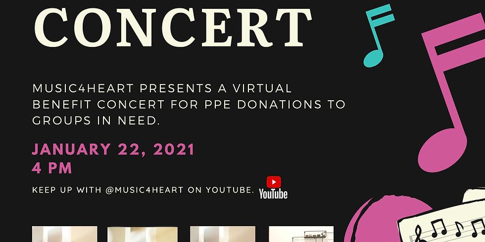 2021 January Virtual Benefit Concert