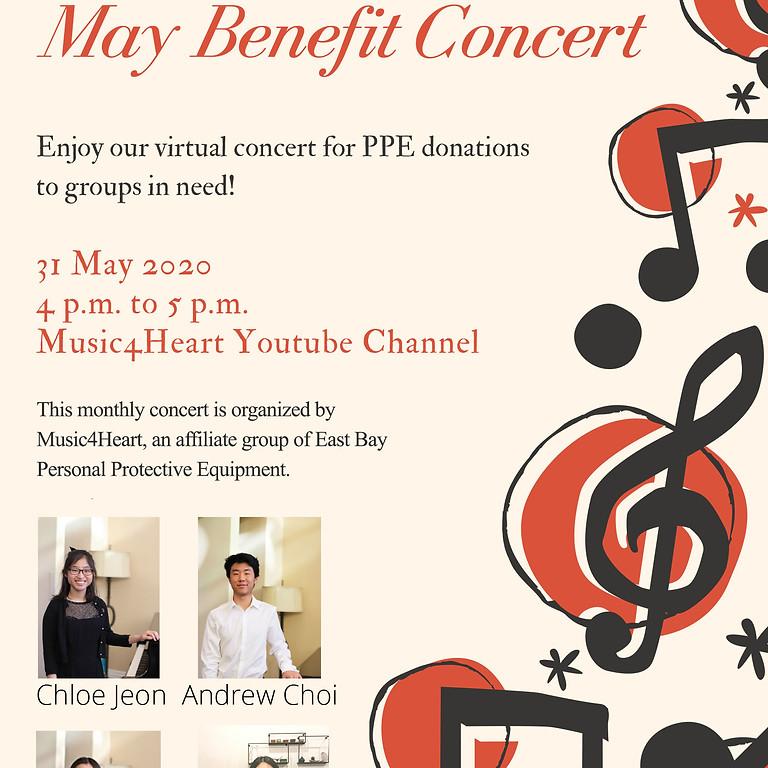 Music4Heart: May Virtual Benefit Concert