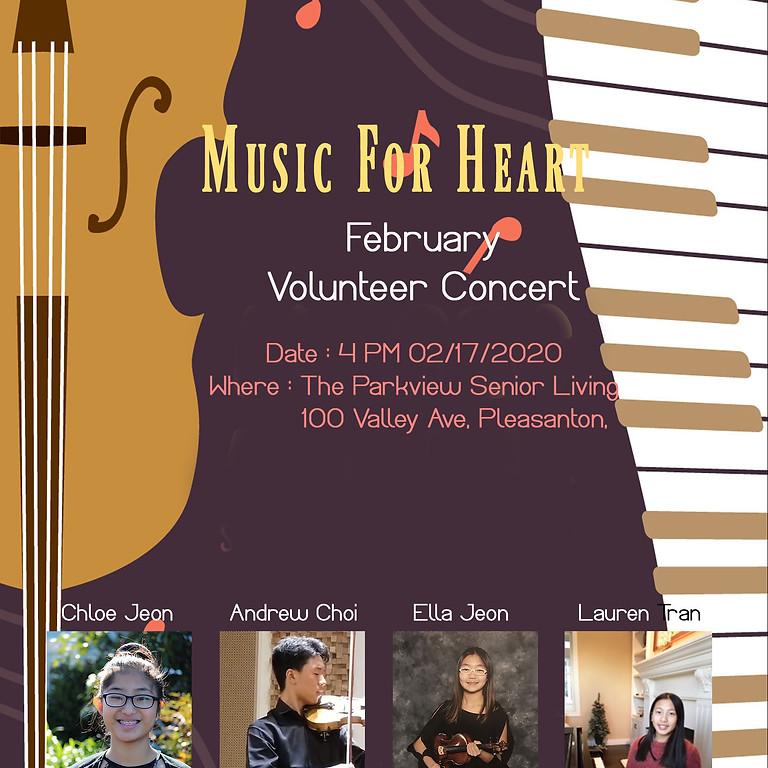 Music4Heart Volunteering Concert