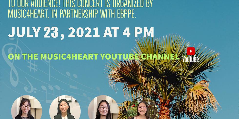 Music4Heart's 2021 July Virtual Concert