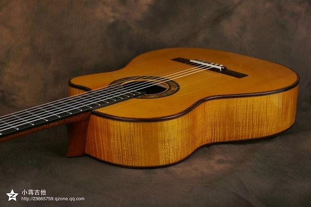 Flamenco Guitar with Cutaway