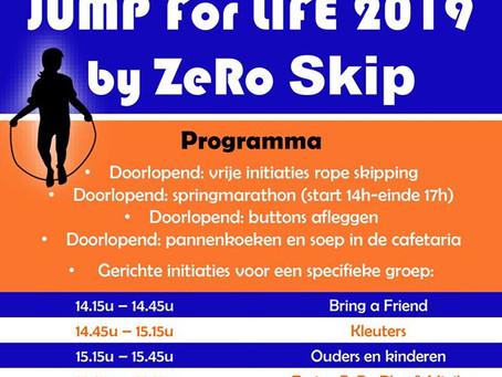 Jump for life - kom jij meespringen voor het goede doel?