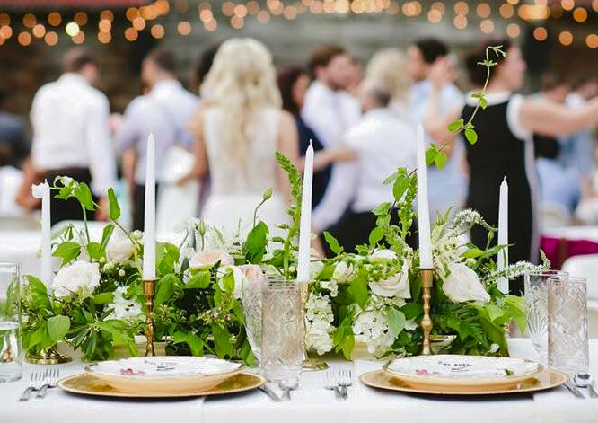 Garden Inspired Head Table